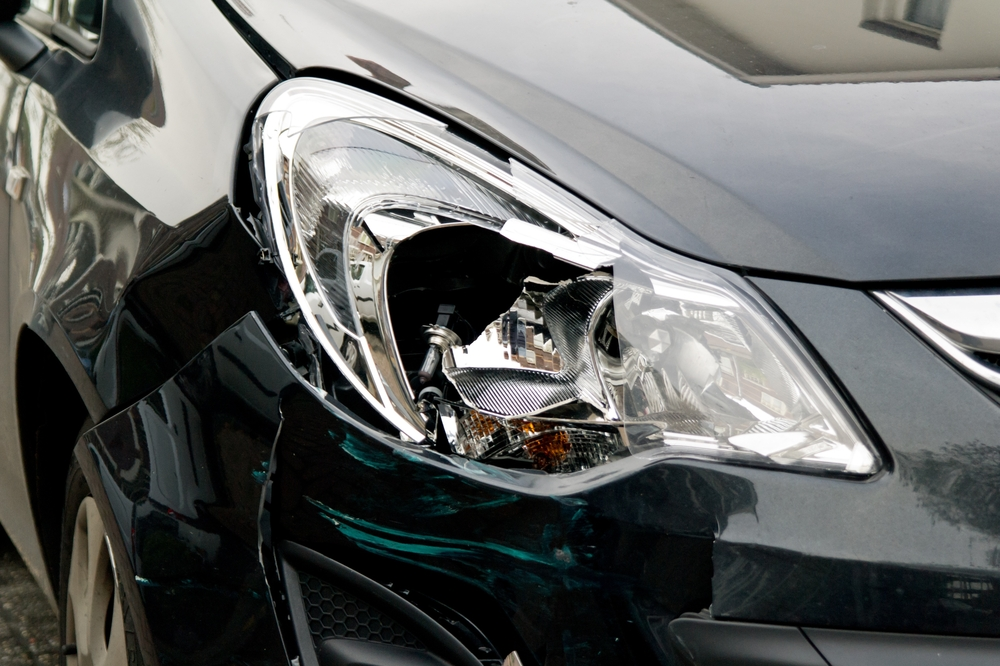 Vehicle accident photography